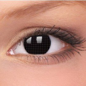 ColourVue Black Screen Crazy Contact Lenses