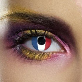 Edit's Flag Range France Contact Lenses