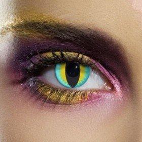 Edit's Crazy Range Lizard Contact Lenses
