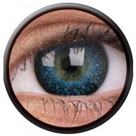 ColourVue Aqua Eyelush Coloured Contact Lenses