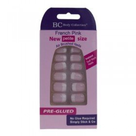 Body Collection French Pink Nails New Petite Size PreGlued 1080