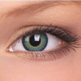 ColourVue Yellow/Blue Fusion Coloured Contact Lenses