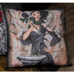 Alchemy Story Of The Rose Gothic Filled Cushion