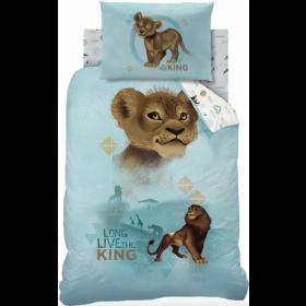 Single Size Lion King Simba Reversible Photographic Design Duvet Cover & Matching Pillowcase