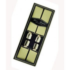 Men's Hardwearing Beige 35mm Fashion Braces