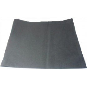 Plain Black  Bandana Head Neck Scarf 100% Cotton