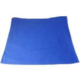Plain Blue Bandana Head Neck Scarf 100% Cotton