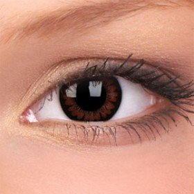 ColourVue Pretty Hazel Big Eyes Contact Lenses