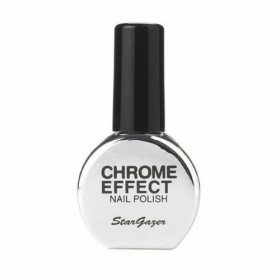 Stargazer Chrome Metallic Silver Nail Varnish 14ml 232