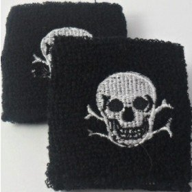 Skull Design Sweatband / Armband