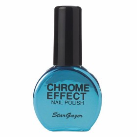 Stargazer Chrome Metallic Blue Nail Varnish 14ml 233