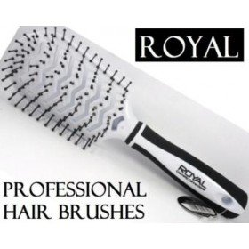 White Royal Cosmetic Connections Vent Hair Brush